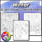 Winter Animal Coloring Sheets - Just Print and GO! Visual Art!