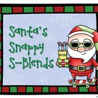 Winter Articulation Practice - Santa's Snappy S-Blends