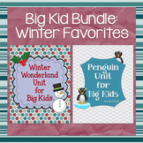 Penguins and Winter Wonderland: Winter BUNDLE for Big Kids