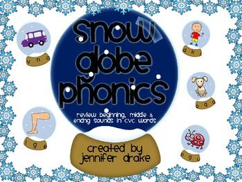 Winter Beginning, Middle & End Sound Center Cards ~SNOW mu