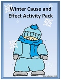 Winter Cause and Effect Activity Pack