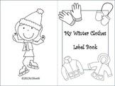 Winter Clothes Label Book