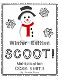 Winter Edition: Multiplication SCOOT