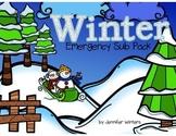 Winter Emergency Sub Pack