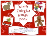 Winter Emergent Reader Pack