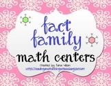 Winter Fact Families Math Centers