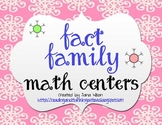 Winter Fact Families Math Centers