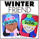 Winter Friends Writing Craftivity