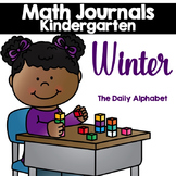 Winter Kindergarten Math Journals