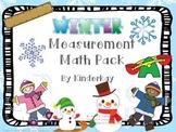 Winter Measurement Math Pack