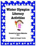 Winter Olympics Literacy Activities