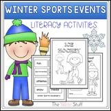 Winter Sports Literacy Activities {CCSS}-TheWriteStuff
