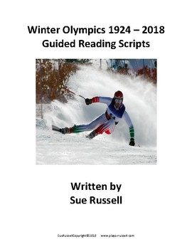 Winter Olympics Plays for guided reading