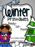 Winter Printables {Ready, Set, Print!}