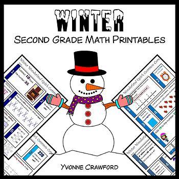 Winter No Prep Common Core Math (2nd grade)