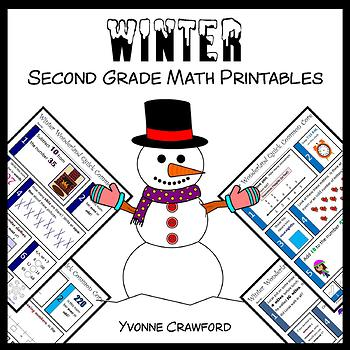 Winter No Prep Common Core Math (2nd grade)