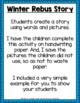 Winter Rebus Story {Free}