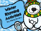 Winter Rhyming Activities