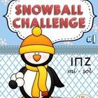 Clip It! Winter Snowball Challenge #1