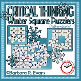 Winter Square Puzzlers
