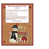 Winter Sugarplum Math and Literacy Centers