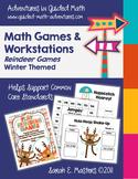 Winter Reindeer Games - 12 - 2nd Grade Math Games/Centers