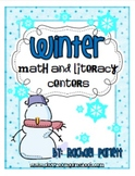 Winter-Themed Math and Literacy Centers For Primary Students