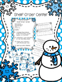 Winter Themed Shelf Order Center
