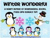 Winter Wonderful : A warm bundle of worksheets, books,  ma