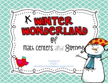 Winter Wonderland Math Games