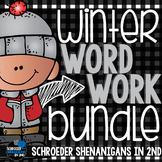 Winter Word Work BUNDLE!