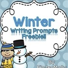 Winter Writing Prompts - FREEBIE!