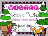 Wintertastic Fun Math and Literacy Centers