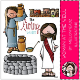 Woman at the well Bible story by Melonheadz Illustrating L