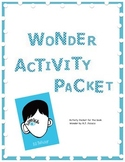 Wonder Activity Packet