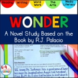 Wonder by R.J. Palacio Integrated Book Study