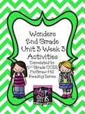 Wonders 2nd Grade Unit 3 Activities Week 3