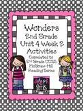 Wonders 2nd Grade Unit 4 Activities Week 2