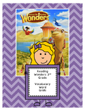 Wonders 3rd Grade Vocabulary Pages