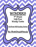 Wonders First Grade Unit Four Tests