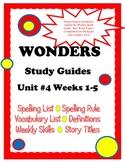 Wonders McGraw Hill Study Guides Unit 4 Grade 2