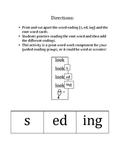 Word Endings and Verb Tenses: -s, -ed, -ing