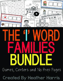Word Family Bundle: The I Families CVC