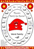 Word Family -at Phonics Merry-Go-Round Game