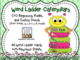 Word Ladder Caterpillars {CVC}