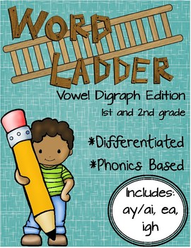 https://www.teacherspayteachers.com/Product/Word-Ladders-Vowel-Digraphs-1st-and-2nd-grade-999529