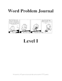 Word Problem Journal - Middle School - Level 1