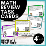 Word Problem Task Cards (optional QR Codes) 4th Grade Common Core