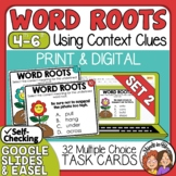 Word Root Task Cards