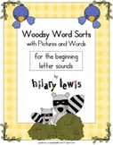 Word Sorts with Pictures-Beginning Letter Sounds UPDATED